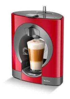 Cafetera Moulinex Dolce Gusto Oblo Roja Cherry Pv110558