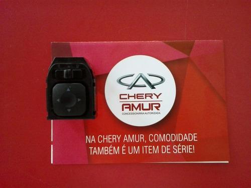 Interruptor De Controle Do Retrovisor Chery Qq Original