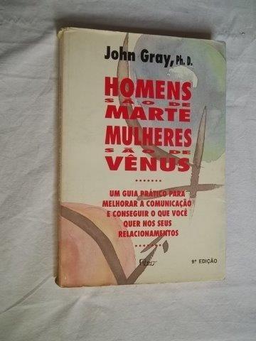 * Livro - Homens São De Marte Mulheres São De Venus