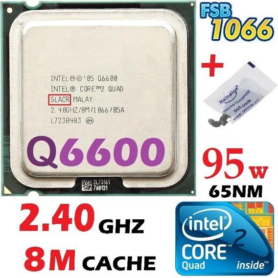 Processador Intel Core 2 Quad Q6600 2.4ghz 8mb Cache Fsb1066