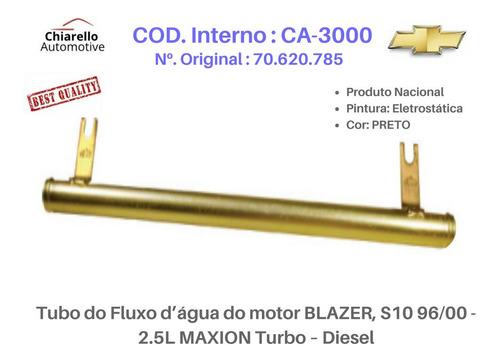 Tubo Dágua Blazer, S10 96/00 - 2.5l Maxion Turbo ¿ Diesel