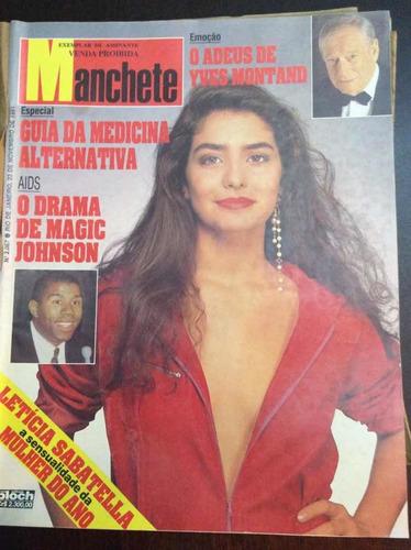 Revistas Manchete - Ano 1991 - Perfeitas