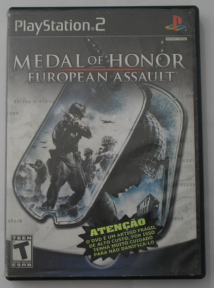 Medal Of Honor European Assault Ps2 Original Usado