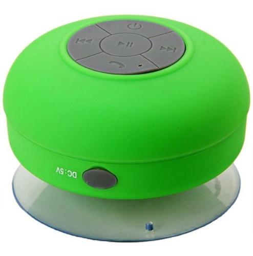 Parlante Bluetooth Recargable Para La Ducha Resistente Agua!