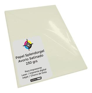 Opalina Ilustracion A3 Color Crema 20 Hs 230 Grs Splendorgel