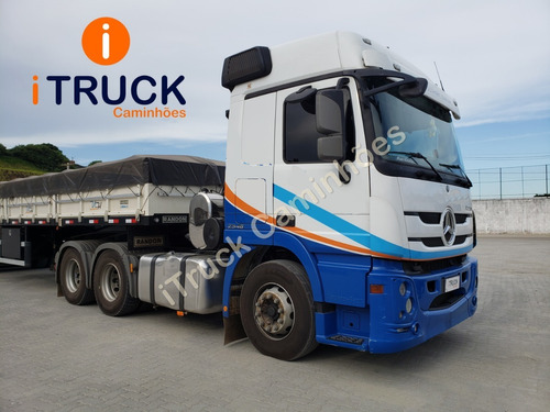 Mb 2546 Actros 6x2 Ano 2019/2020 = Scania Volvo 460 440 450