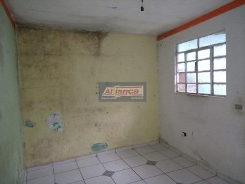 Casa Para Locação No Bairro Jardim Monte Carmelo Em Guarulhos - Cod: Ai19116 - Ai19116