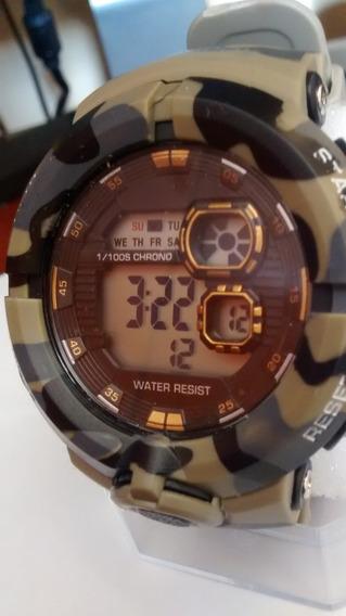 Relógio Digital Militar Modelo Russo Resistente Moderno Bonito Barato