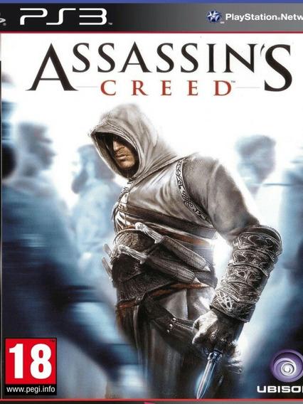 Assassins Creed 1 Psn Ps3 Play 3 Jogo Comprar Envio Hoje