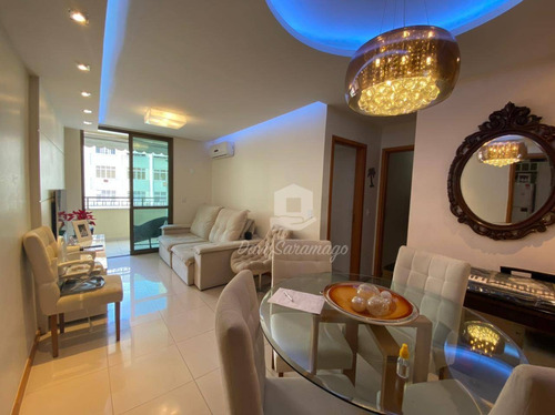 Apartamento Com 2 Dormitórios À Venda, 125 M² Por R$ 655.000,00 - Santa Rosa - Niterói/rj - Ap0811