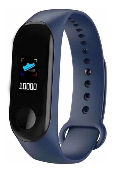 Relógio Pulseira Smart Fitness Pressão Arterial M3s Freq Car
