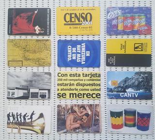 Tarjetas Cantv Coleccionables