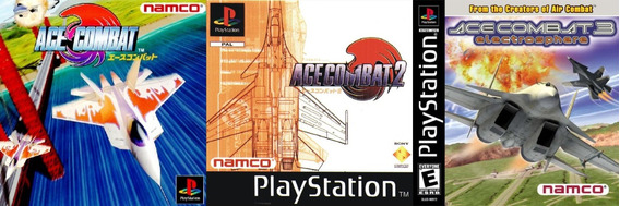 Jogo Ps1 Ace Combat Collection