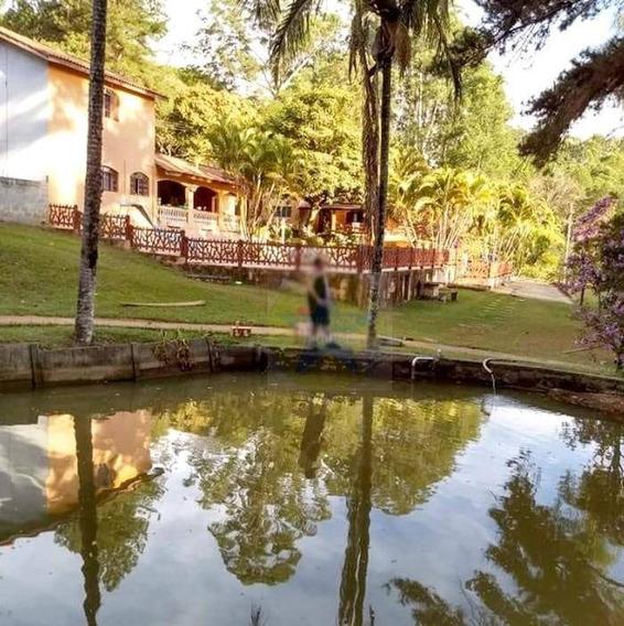 Sítio Com 3 Dormitórios À Venda, 30000 M² Por R$ 890.000,00 - Campo Novo - Bragança Paulista/sp - Si0215