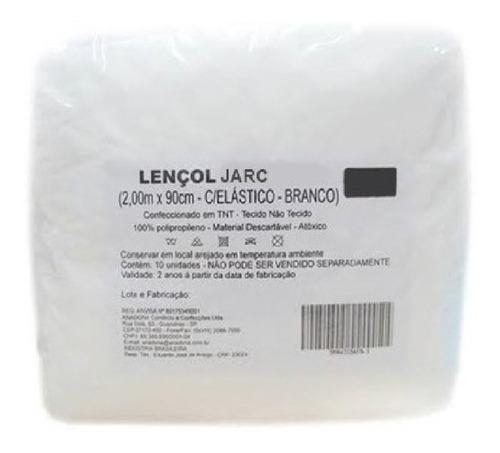 100 Lençol Descartável Elástico Maca 200x90 Tnt 20gr C/ Nota