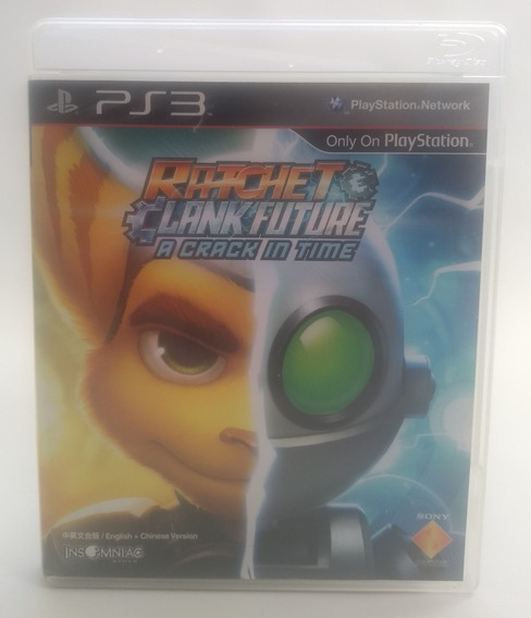 Jogo Ratchet E Clank Future A Crack In Time Ps3 Midia Fisica