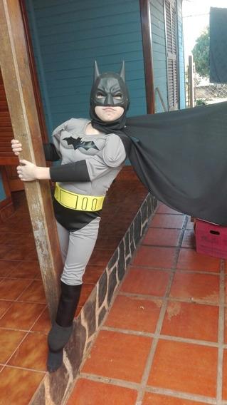 Disfraz Batman Con Músculos Premiun T.p