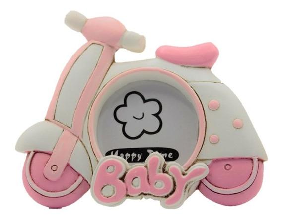 Recuerdito Bautizo Baby Shower Bebe Niña Portarretrato 5031