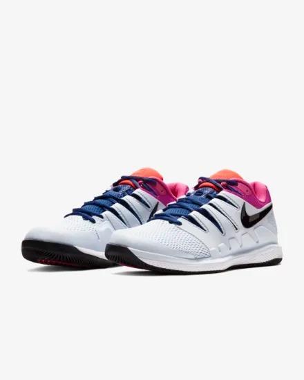 Tenis Nike Court Air Zoom Vapor X Blanco Fucsia Roger