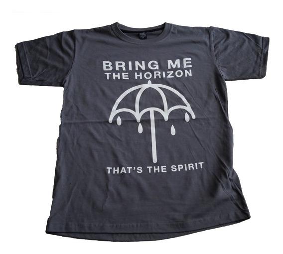 Camiseta Bring Me The Horizon Thats The Spirit Rock Activity