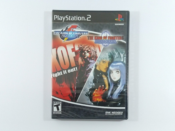 The King Of Fighters 2000 / 2001 Original Ameri Lacrado Ps2