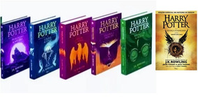 Kit Livros Harry Potter Capa Dura - Volume 3 Ao 8 - Lacrados