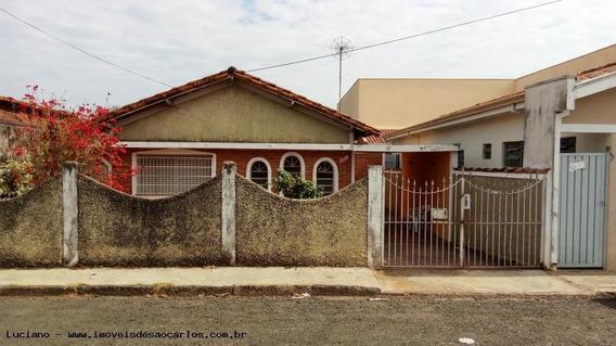 Casa Para Venda Em São Carlos, Vila Irene, 4 Dormitórios, 2 Banheiros, 4 Vagas - Lc326