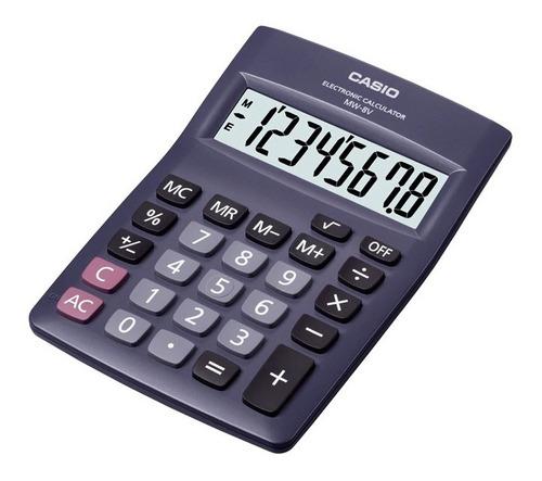 Calculadora Casio Escritorio Mw-8v-bk