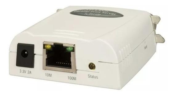 Print Server Tl-ps110p Porta Paralela Tp-link