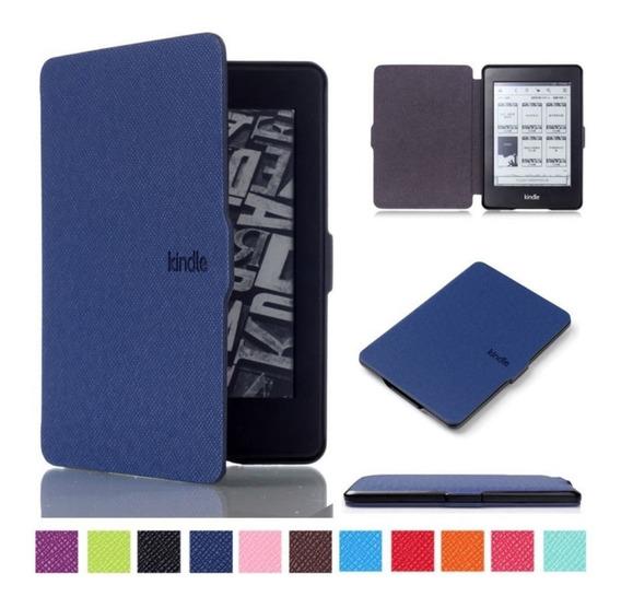 Capa Kindle Paperwhite 1 2 3 Com Fecho Magnético