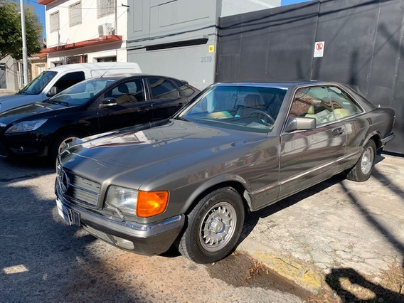 Mercedes Benz 380sec 1988 Impecable Dorrego Motors