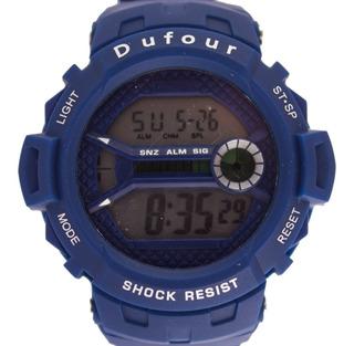 Reloj Deportivo Dufour Original Hombre Grande Varios Colores Descuentos Por Cantidad