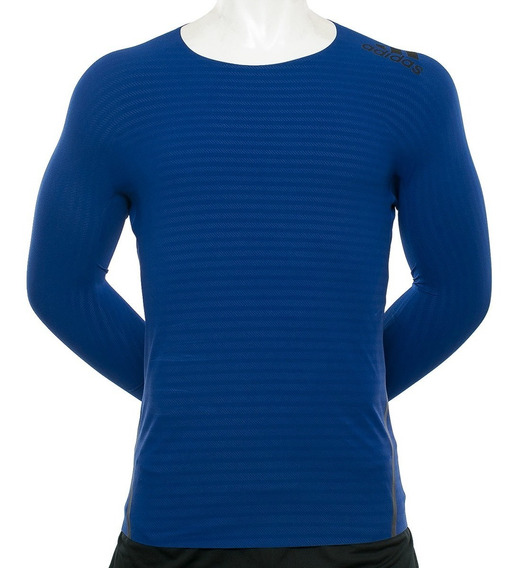 Remera Alphaskin 360 Azul adidas Sport 78 Tienda Oficial