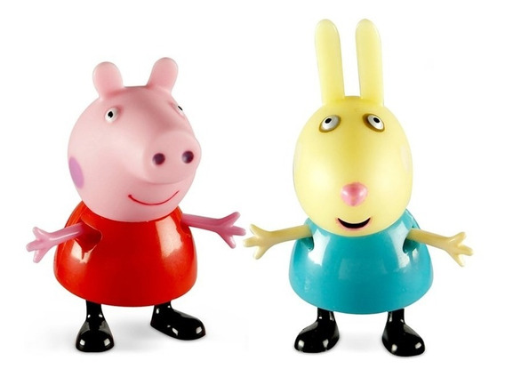 Peppa Pig E Seus Amigos - Peppa E Rebecca - Estrela