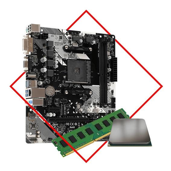 Actualización Combo Amd Mother + Micro A8 9600 + 8gb Ddr4