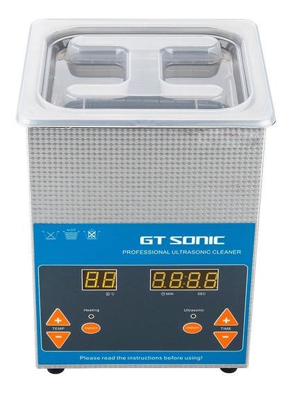Limpiador Ultrasonico Con Temporizador 2l Para Joyería Y Más