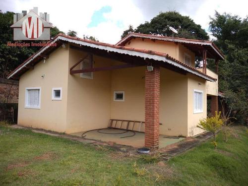 Chácara Com 03 Dormitórios À Venda, 6800 M² Por R$ 380.000 - Zona Rural - Pinhalzinho/sp - Ch0393