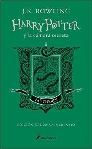 Harry Potter Y La Cámara Secreta 20 Aniversario - Slytherin