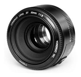 Lente Yongnuo 50mm F/1.8 Pronta Entrega Canon