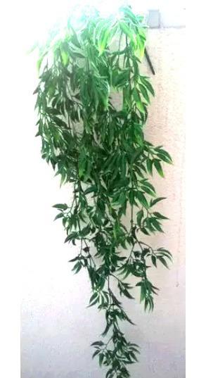 Planta Artificial Colgante Diseño Muy Original 100cm