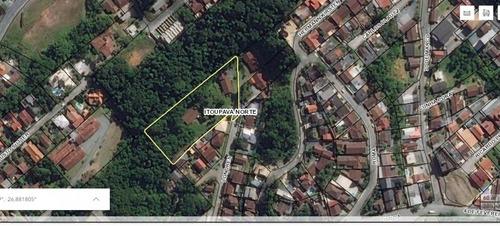 Imagem 1 de 20 de Ótima Oportunidade De Investimento:  Terreno No Bairro Itoupava Norte, Medindo 4.979,96 M², Totalmente Plano, E Ainda Com Duas Casas. Zona Residencial 1 (zr1).  - 35712107v