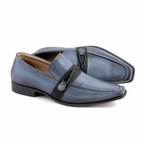 f5f40f0a6 Sapato Social Esporte Fino Azul - Calçados, Roupas e Bolsas no ...