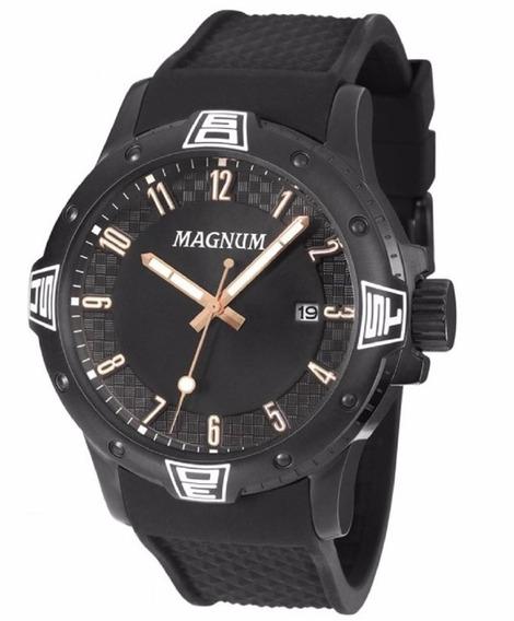 Relógio Masculino Magnum Oversized Preto Ma34414d