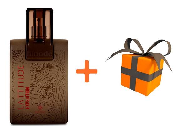 Perfume Lattitude Expedition Hinode + Um Brinde Grátis