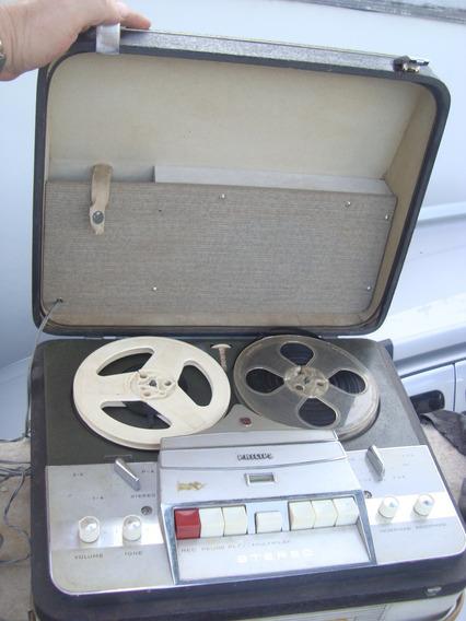 Tape Deck Rolo Philips Gravador, Leia.