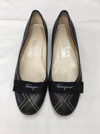 Zapatos Flats Mujer Salvatore Ferragamo 24 Preciosos Gucci