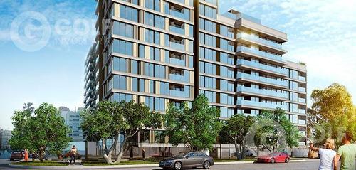 Imagen 1 de 23 de Vendo Apartamento De 1 Dormitorio En Construcción, Julio 2021, Rambla De Malvín, Montevideo