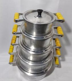 Jogo De Panelas Alumínio Fundido Batido S1