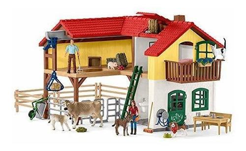 Schleich Grande Farm House Play Conjunto Multicolor