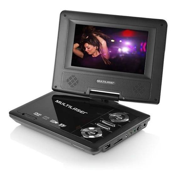 Dvd Automotivo Portátil 7 Au710 Multilaser Garantia Nf